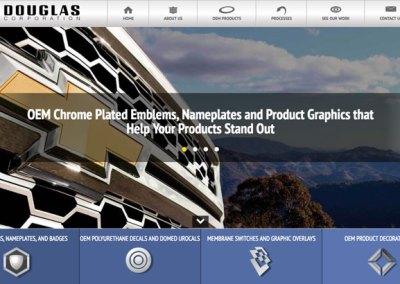 Douglas Corporation website content