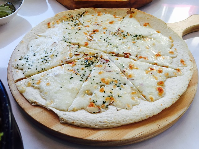 Korean Vegetarian Pizza