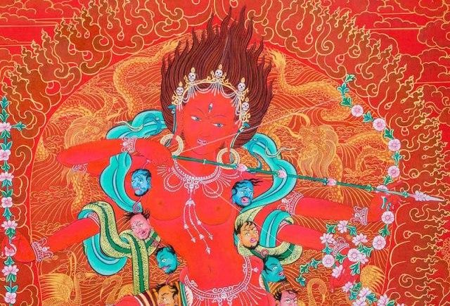 Homage to Kurukulla, Goddess of Love