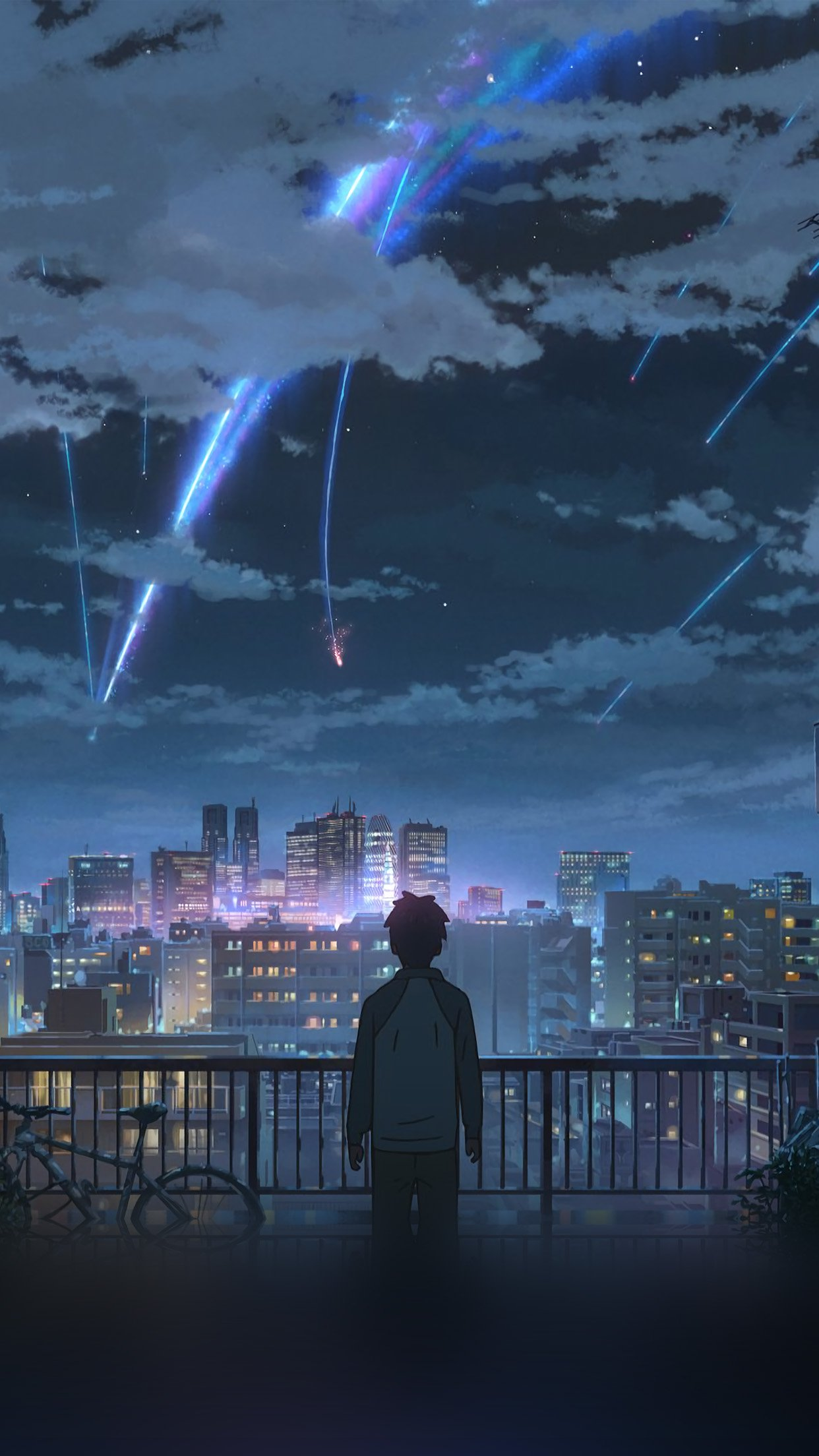 Your Name Live Wallpaper Gif : wallpaper, Flares, Yourname, Anime, Android, Wallpaper, Iphone, 1242x2208, Teahub.io