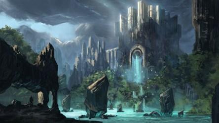 Dark Fantasy Background Wallpaper Hd With High resolution Fantasy Background 1920x1080 Wallpaper teahub io