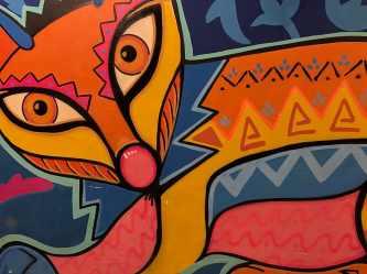 Orange And Multicolored Abstract Wallpaper Art Modern Easy Simple Renaissance Art 910x683 Wallpaper teahub io