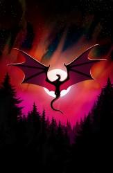 Wallpaper Dragon Moon Night Dark Art Moon Dragon 2540x3888 Wallpaper teahub io