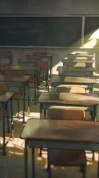 Anime School Classroom Desks Wind Lonely Boy High School Classroom Background 750x1334 Wallpaper teahub io