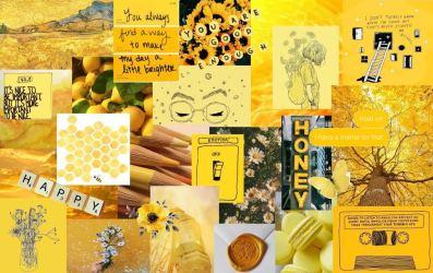 Yellow Aesthetic Wallpaper Laptop 1234x777 Wallpaper teahub io