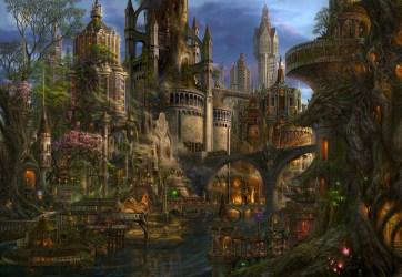 Fantasy Art Medieval City 2901x2000 Wallpaper teahub io
