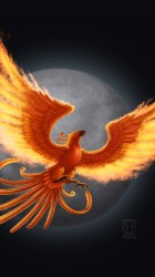 Mobile Wallpapers Phoenix Images With Image Resolution Phoenix Mythical Creature Logo 1080x1920 Wallpaper teahub io