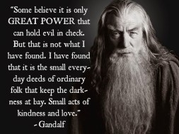 Gandalf Quote Great Power