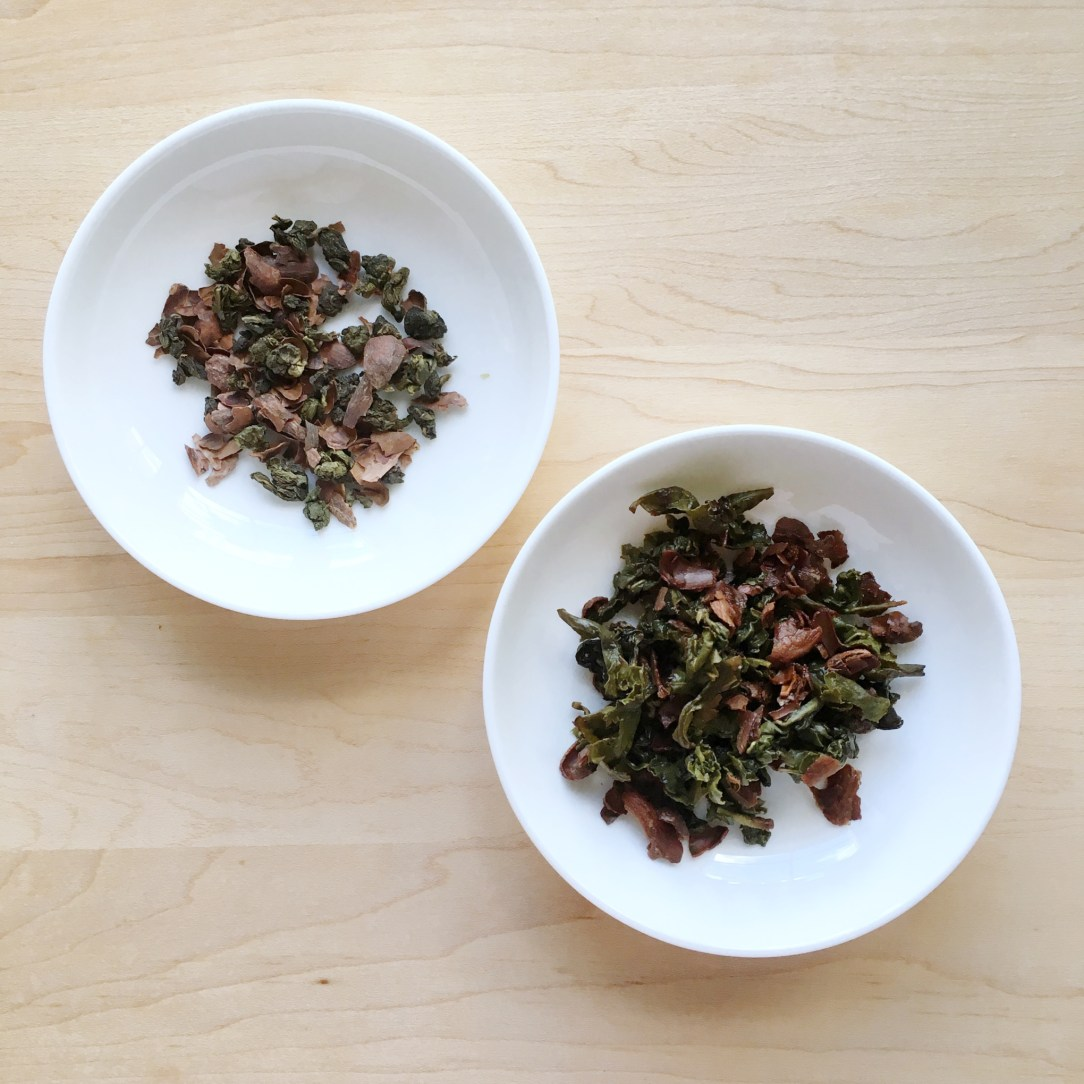 Pluck Tea Dailo Chocolate Oolong Tea Dishes