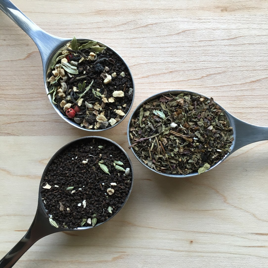 Teabox Chai Green Black Tea Three Spoons
