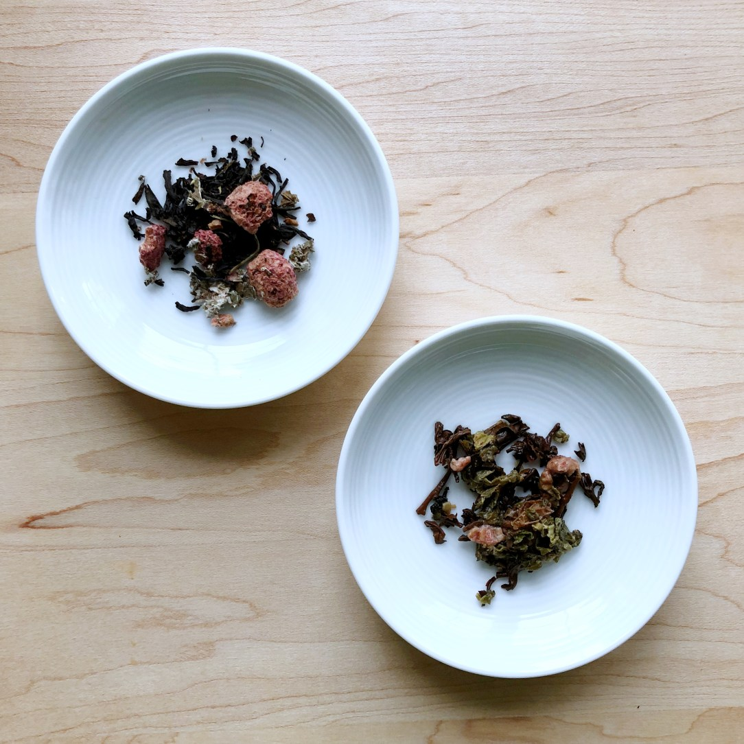 Bluebird Tea Co.'s Vicky's Sponge Cake Black Tea Dishes