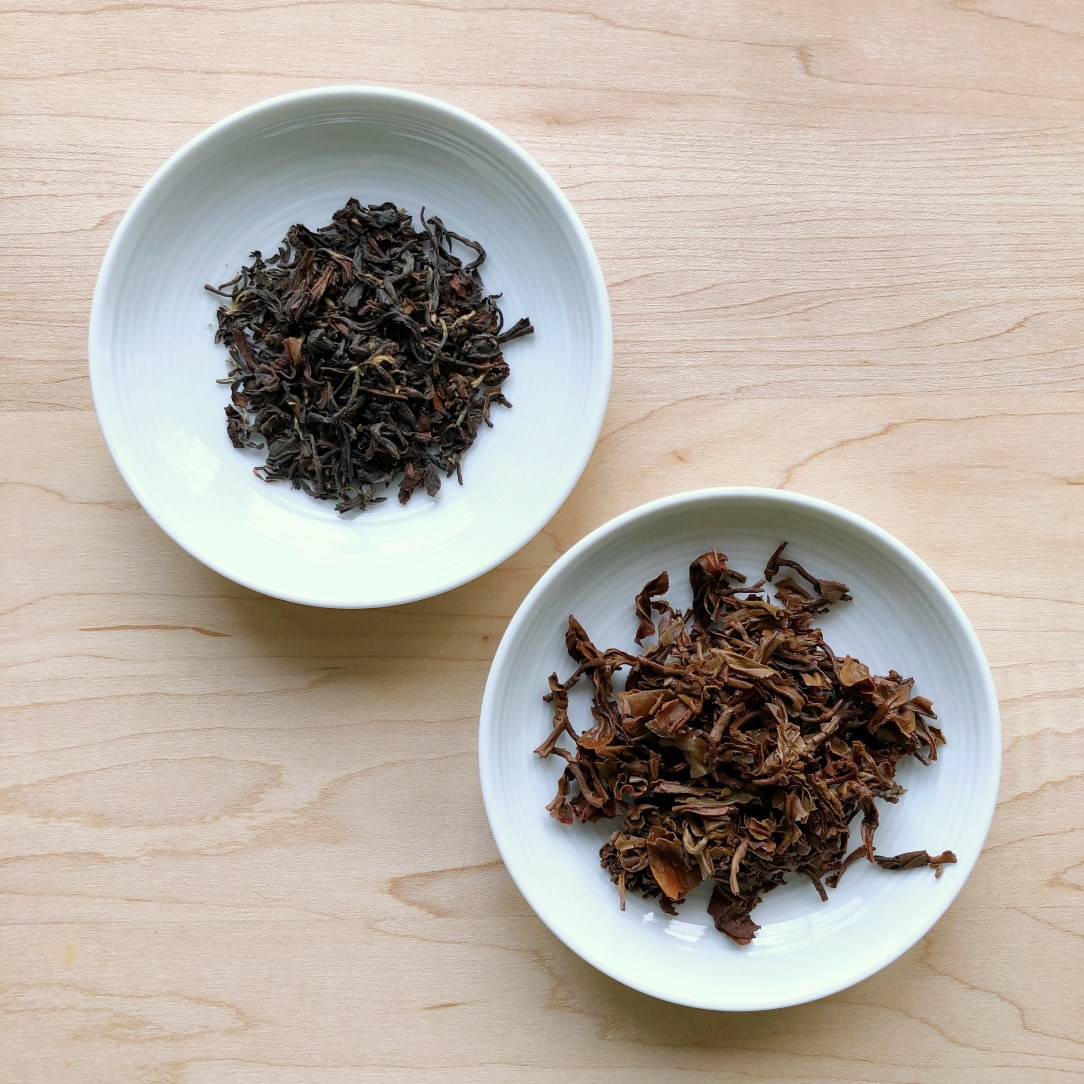 Teabox Red Thunder Autumn Oolong Tea Dishes