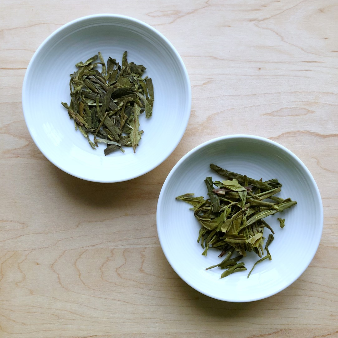 Genuine Tea Organic Dragonwell Green Tea Dishes