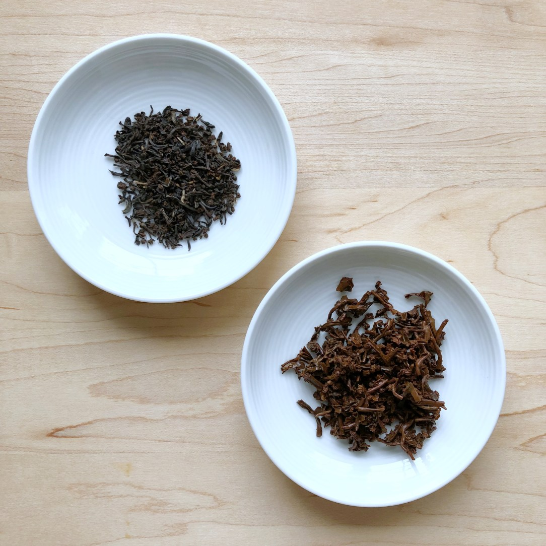 Shibui Tea English Breakfast Black Tea Dishes
