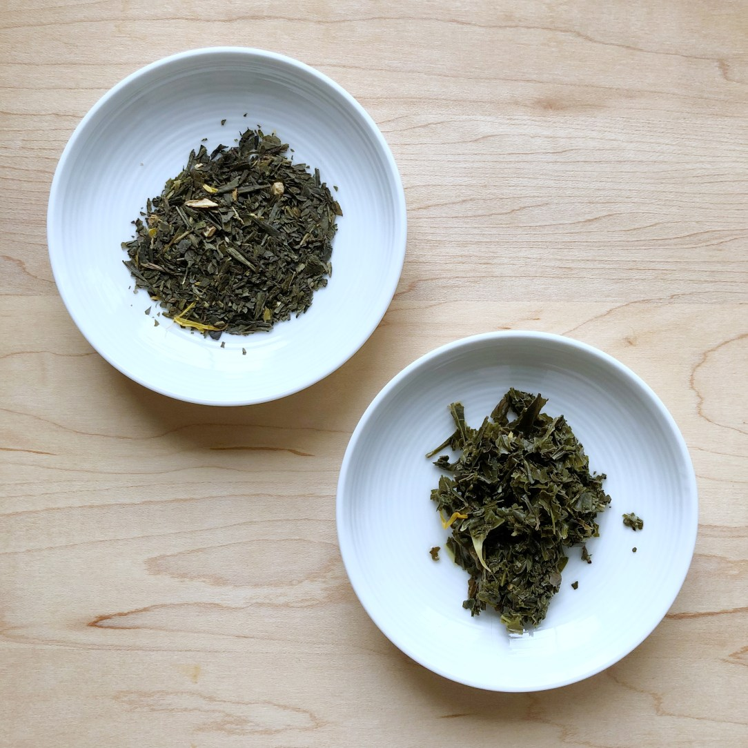 Shibui Tea Tropical Green Tea Dishes