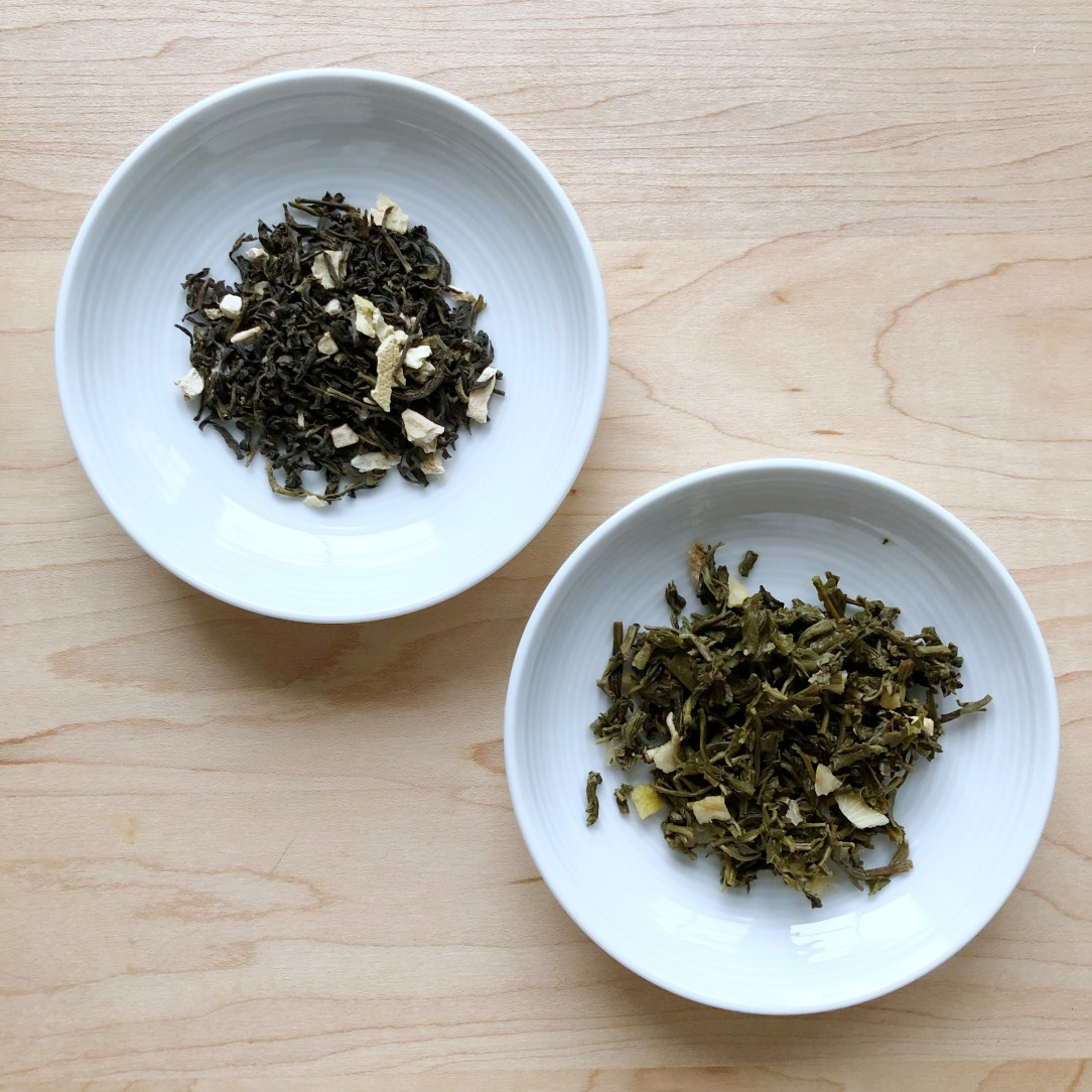 Teabox Lemon Dew Green Tea Dishes