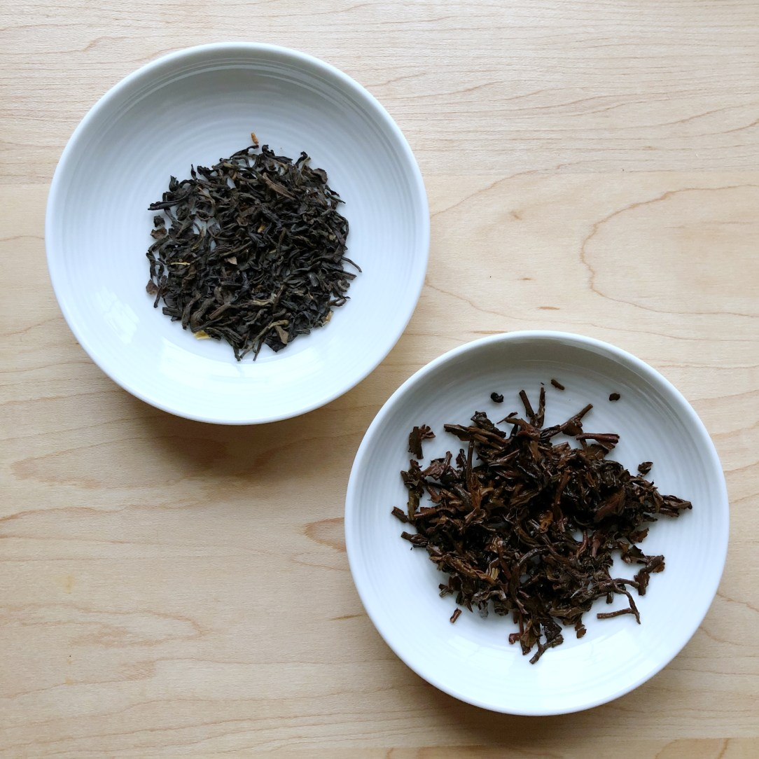 The Tea Spot Bolder Breakfast Black Tea Dishes