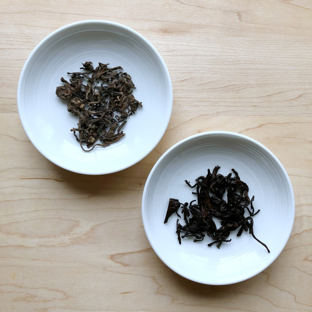 West China Tea Company Rain Butter Puer Tea Dishes