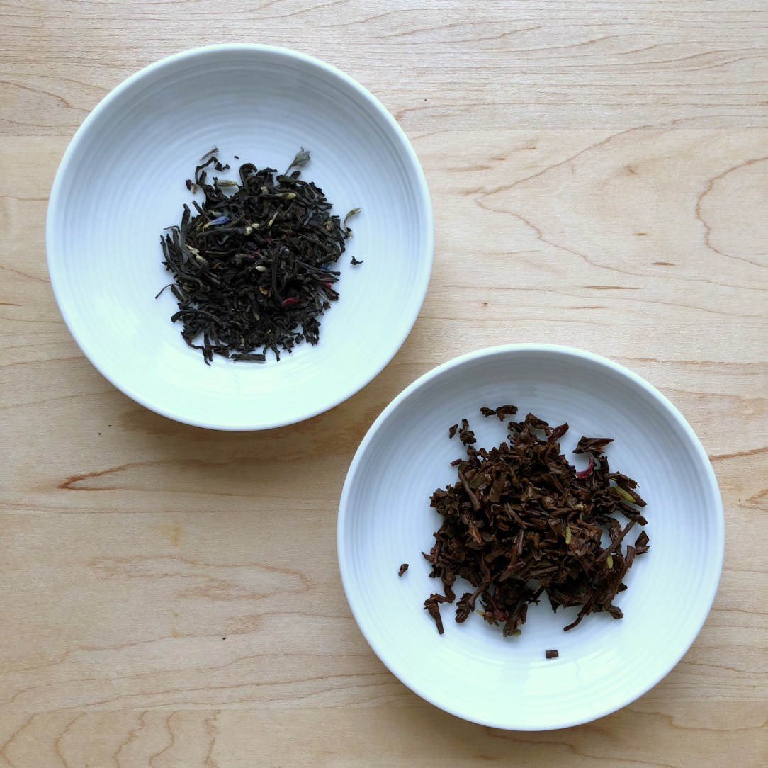 Amoda Tea Aromatica Fine Teas Lavender Cream Earl Grey Black Tea Dishes