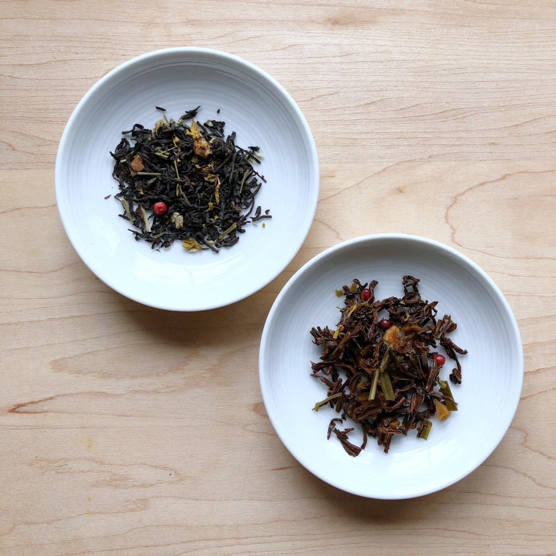 Tealish Citrus Grove Black Tea Dishes