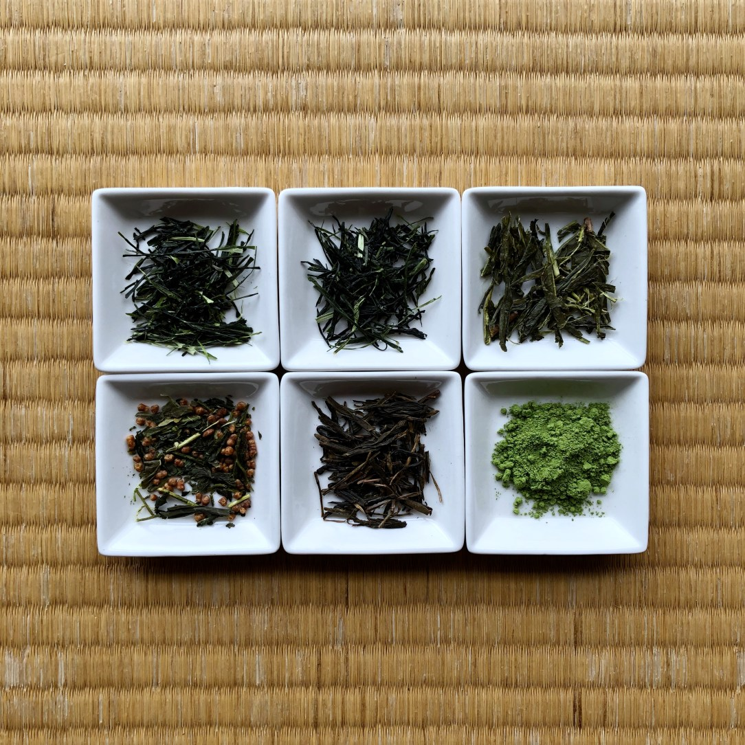 Obubu Tea Common Japanese Green Teas