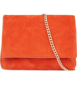 Brompton Suede Mini Bag, £85, Karen Millen