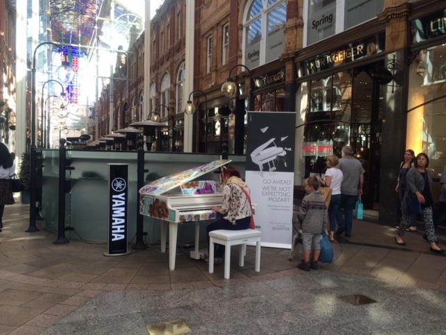 Piano Pop Up in Victoria Quarter