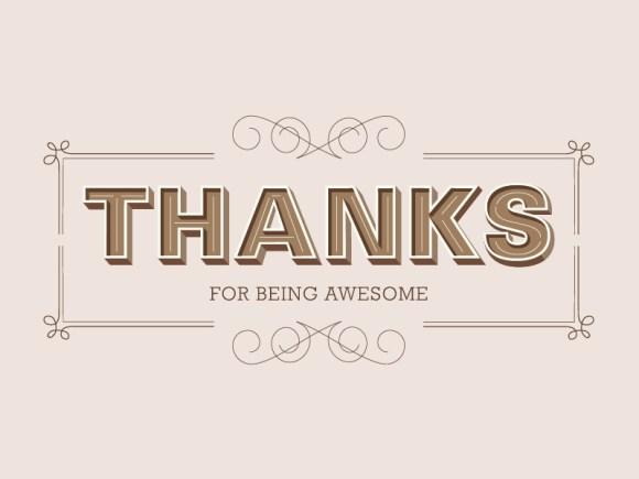 thanksforbeingawesomedribbble