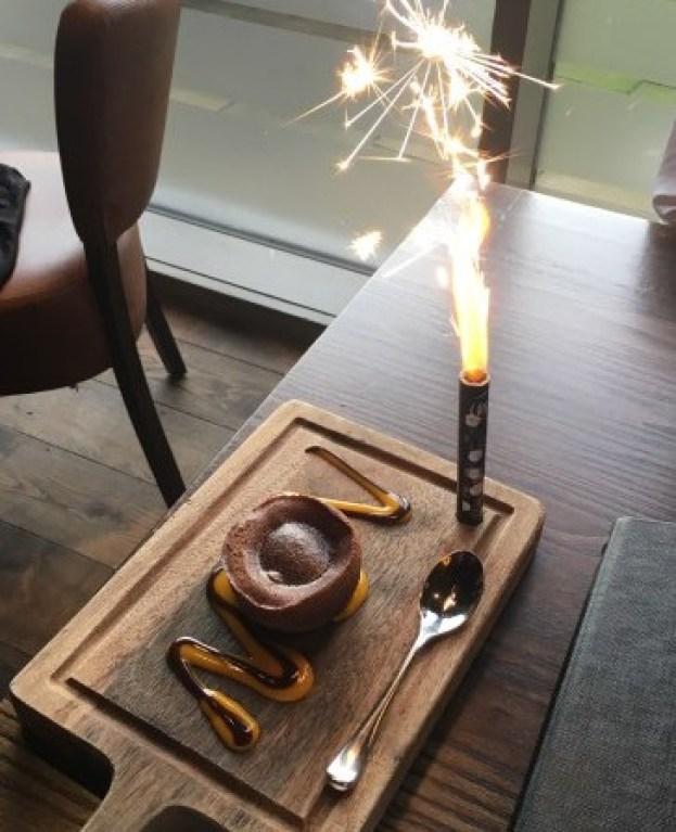 Birthday Dessert at Fazenda Leeds