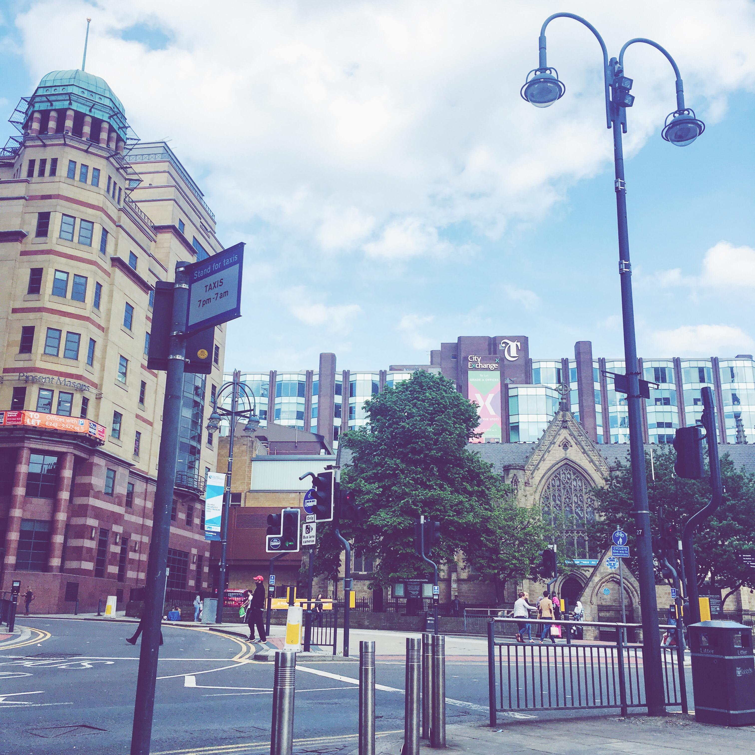 Leeds City Centre Summer 2016