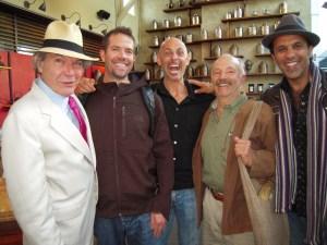 James Norwood Pratt, Joshua Kaiser, Jesse Jacobs and David Lee Hoffman