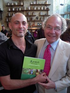 Jesse Jacobs and James Norwood Pratt, author of the Ultimate Tea Lover's Treasury
