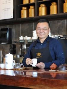Teamaster Jason Chen of Smacha Tea Company