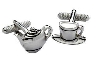 Tea Set Cufflinks