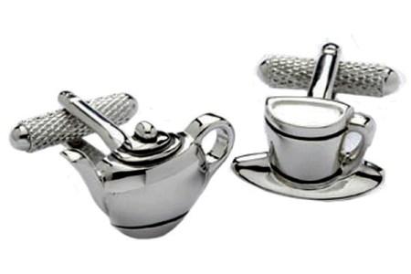 Tea Set Cufflinks