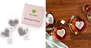 Uncommon Goods | Heart-Shaped Tea Bags