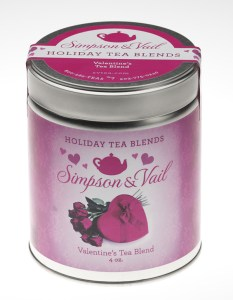 Simpson & Vail | Valentine's Tea Blend + Cocktail Recipe