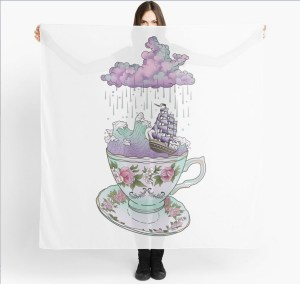 Storm in a Teacup Scarf