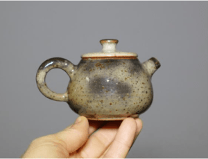 Grey Shino Teapot