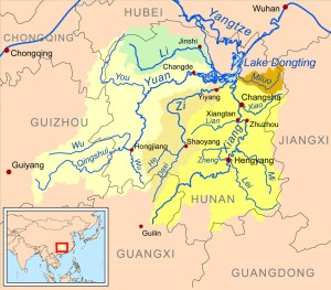 Anhua River System