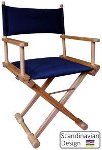 Teak Folding Captains Chair w Cushions - Teak Deck Company ...