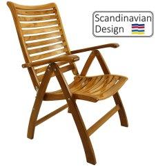 High Folding Chair Desk Ergonomic Review Gloss Teak Deck Company