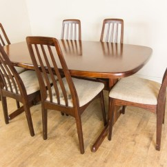 Skovby Rosewood Dining Chairs How Much Does A High Chair Cost Vintage Retro Danish Extending Table And 6