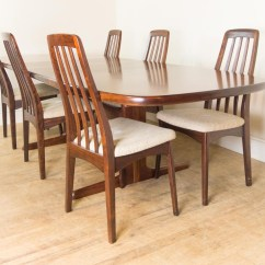 Skovby Rosewood Dining Chairs Besthf Com Vintage Retro Danish Extending Table And 6