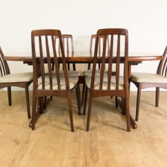 Skovby Rosewood Dining Chairs Liberty 312 Power Chair Battery Vintage Retro Danish Extending Table And 6