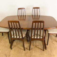 Skovby Rosewood Dining Chairs Rocking Adirondack Plans Vintage Retro Danish Extending Table And 6