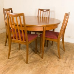 Retro Dining Table Chairs Uk Chair Yoga Instructor Training Vintage G Plan Fresco Teak And 4