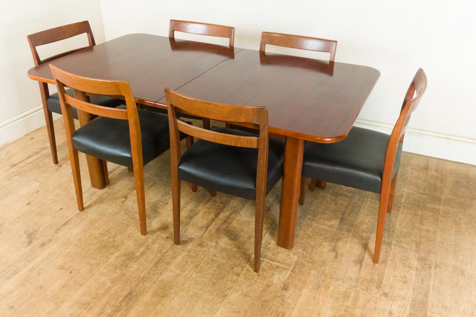 retro dining table chairs uk arm chair covers canada vintage troeds scandi rosewood and 6