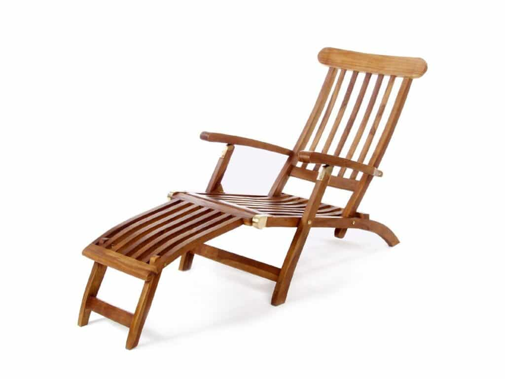 outdoor teak chairs personalized makeup artist chair 5 position steamer patio furniture world