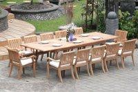 Extending Teak Patio Table vs Fixed-length Dining Table ...